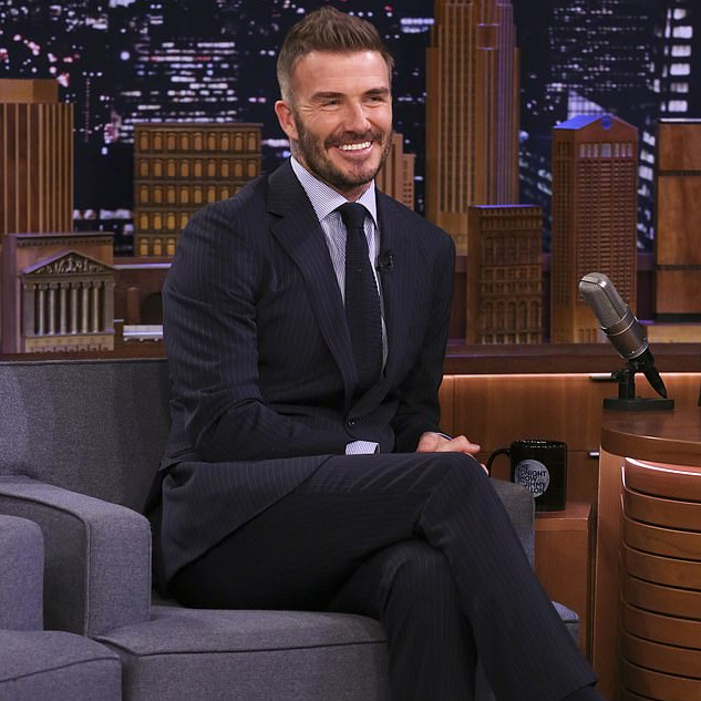 Lovely David Beckham proves he's the Keepsake King
