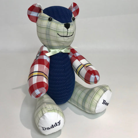 Personalised Memory Keepsake Bears