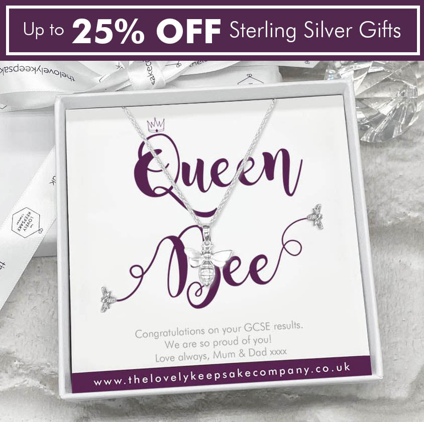 Personalised Sterling Silver Jewellery Gift Collection