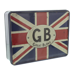 GB Great Bloke keepsake tin
