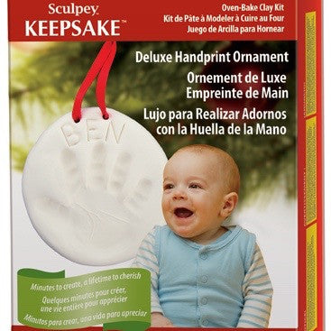 Handprint Ornament Moulding Kit