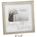 'Happy Milestone Birthday' Mirror Print Box Photo Frame