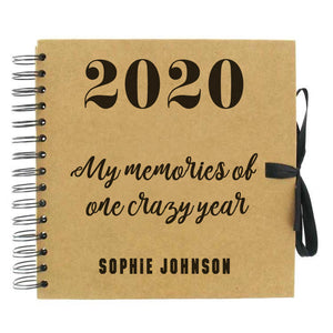 You added One Crazy Year Scrapbook (Kraft, Black, White) to your cart.