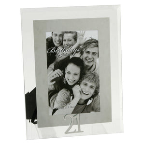 You added 21st Birthday Photo Frame, Glass & Mirror to your cart.