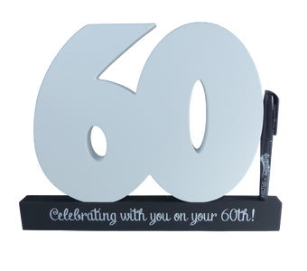 You added 60th Birthday Signature Number to your cart.