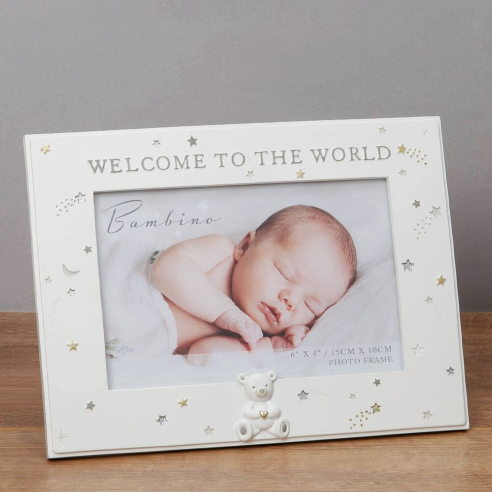 Bambino Welcome To The World Photo frame