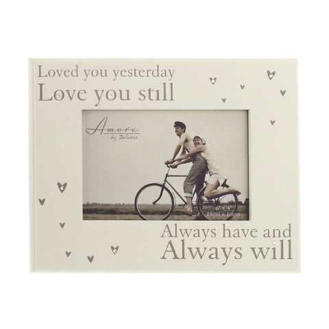 Loved You Yesterday, Love You Still Photo Frame