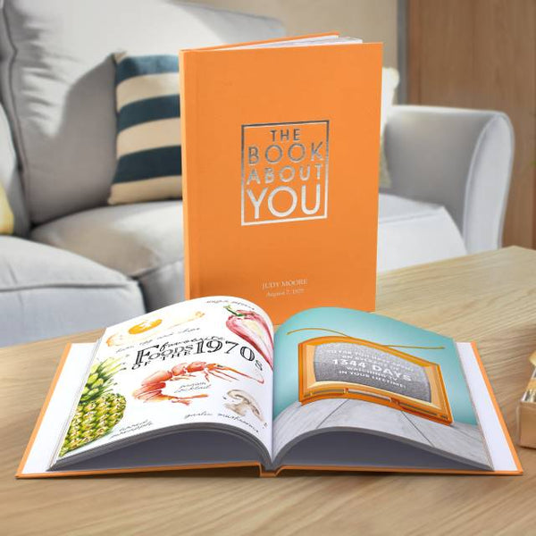 The Book About You - Hardback Interesting Facts Book with Gift Box