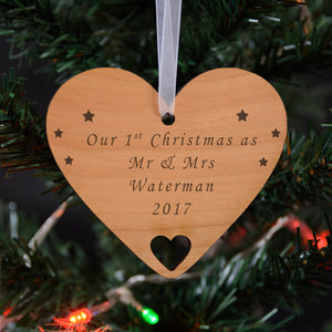 You added Personalised Wooden Hanging Decoration - Any message to your cart.