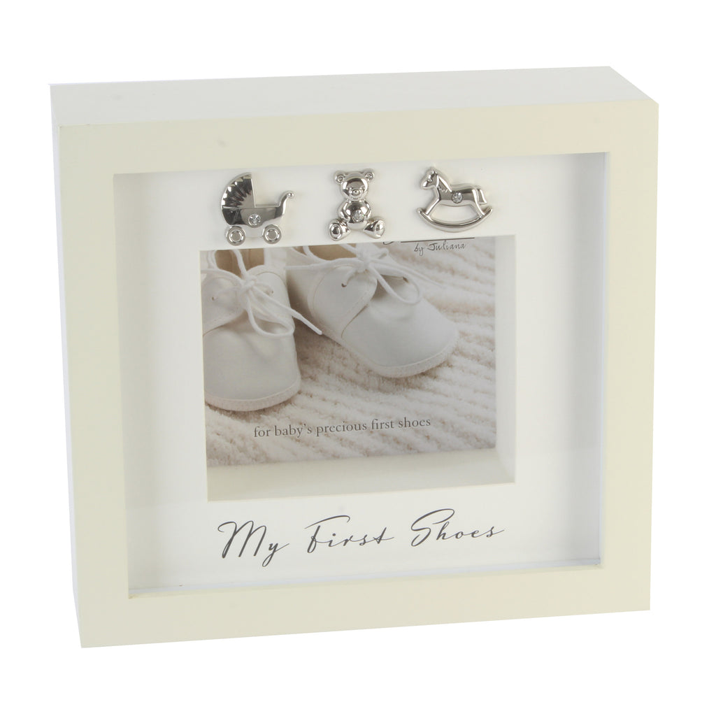 My First Shoes\' Keepsake Frame – The Lovely Keepsake Company