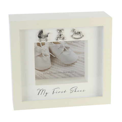 Babies first shoes box frame - Bambino by Juliana
