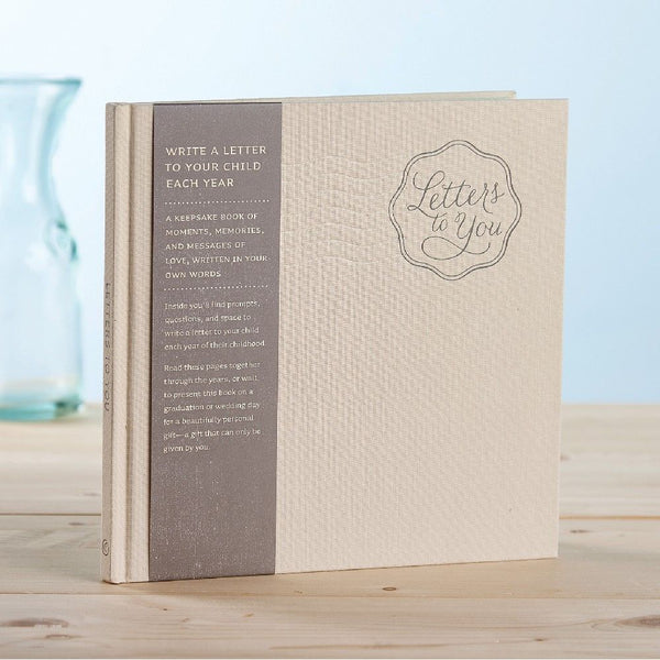 Compendium Cloth Bound Journal 80 Pages - Letters to You
