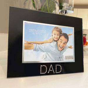 You added Dad Photo Frame, Black Glass to your cart.