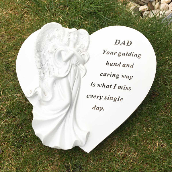 Angel Heart Outdoor Memorial - Dad
