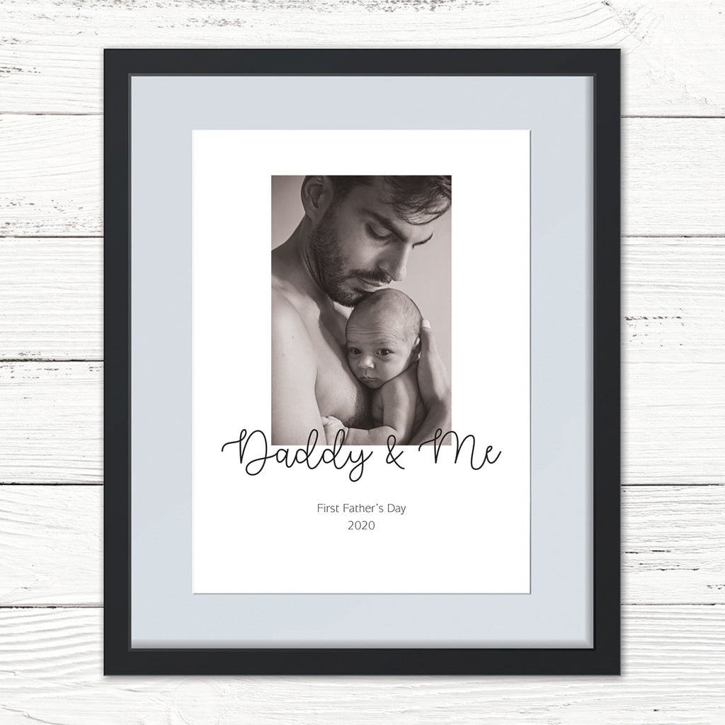 You & Me Personalised Photo Print