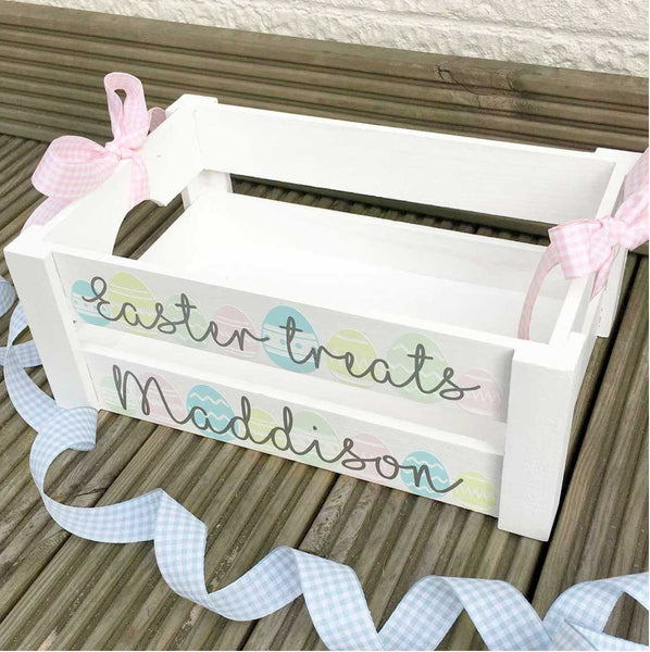 Personalised Easter Crate Box