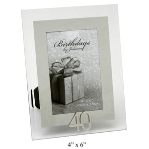 You added 40th Birthday Photo Frame, Glass & Mirror to your cart.