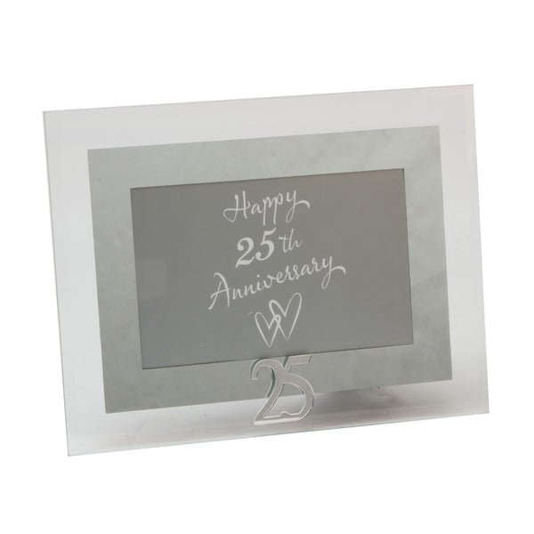 Silver Wedding, 25th Anniversary Photo Frame