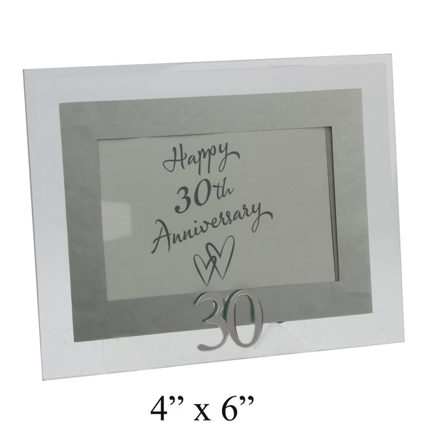 Pearl Wedding, 30th Anniversary Photo Frame