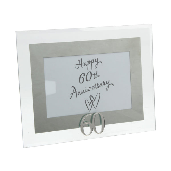 Diamond Wedding, 60th Anniversary Photo Frame