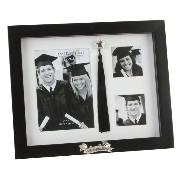 Juliana Graduation Photo Frame with triple mount