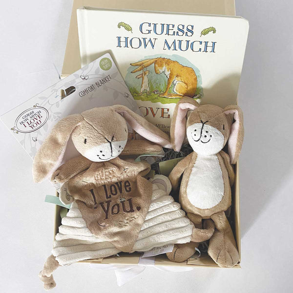 Personalised Guess How Much I Love You™ Baby Gift Hamper
