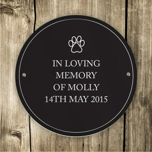 You added Personalised Indoor or Outdoor Pet Plaque to your cart.