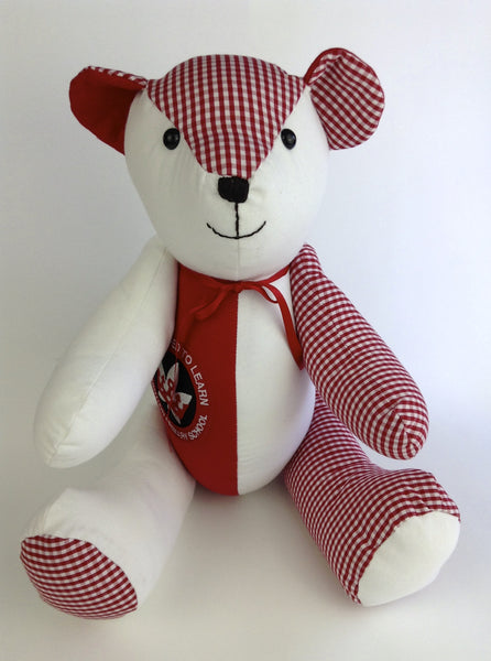 Signature Memory Bear Blazer Bear Uniform Bear The Lovely Keepsake Company