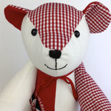 Memory bear for school leavers / uniformed professions