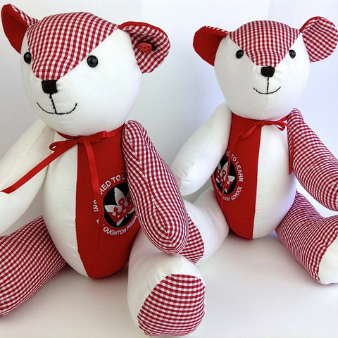 School Leaver Signature Memory Bear
