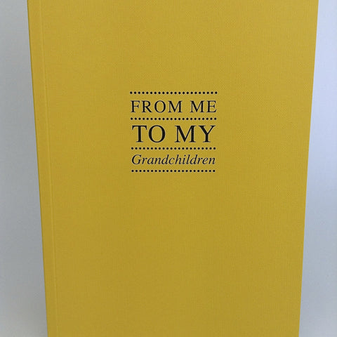 'From me to my grandchildren' Notebook