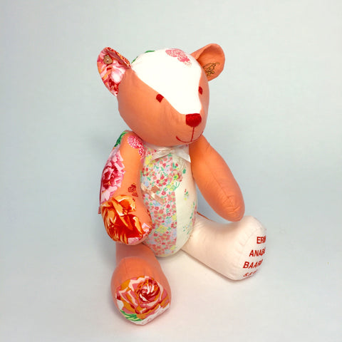 Baby Clothes Keepsake Bear