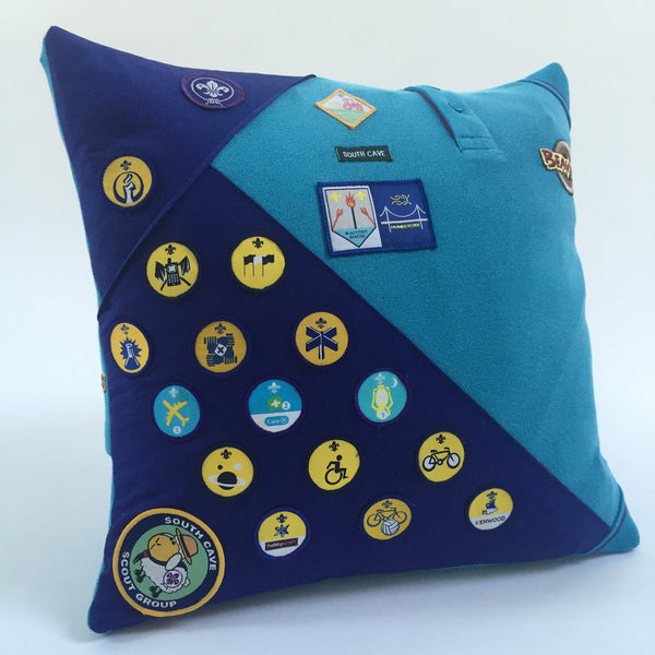 Keepsake cushion - Beavers uniform