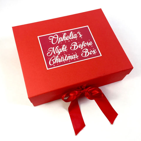 Childs Night Before Christmas box - closed lid