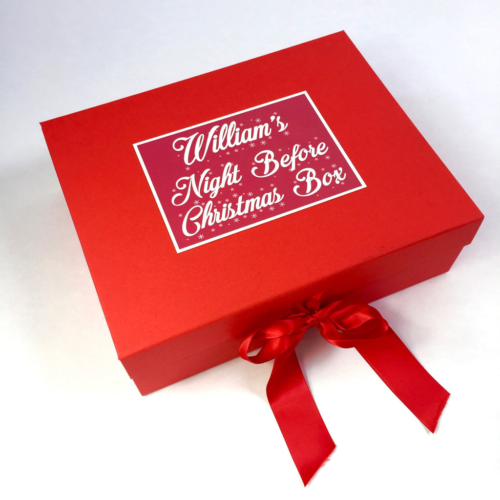 Personalised Night Before Christmas Box - for Baby's 1st Christmas ...