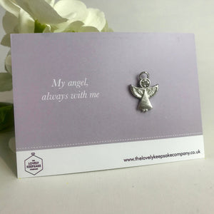 You added 'My Angel Always With Me' Angel Pin to your cart.