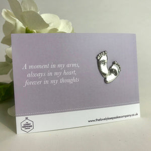 You added 'A Moment in my Arms' Footprint Token to your cart.