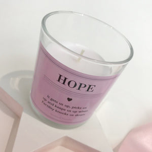 You added Hope Fertility Scented Keepsake Candle to your cart.