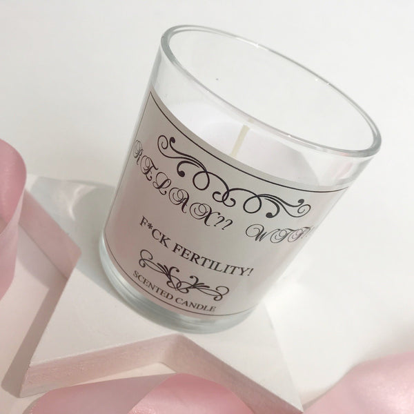 'Relax??!? WTF?' Fertility Scented Keepsake Candle
