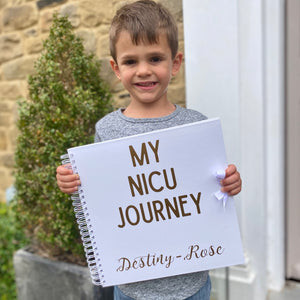 You added Personalised My NICU Journey Scrapbook (Kraft, White) to your cart.