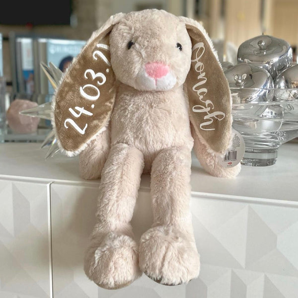 Personalised Name Floppy Bunny 50cm