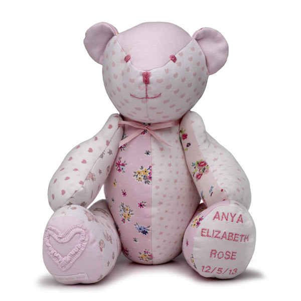 Babygro Keepsake Bear - Baby Girl