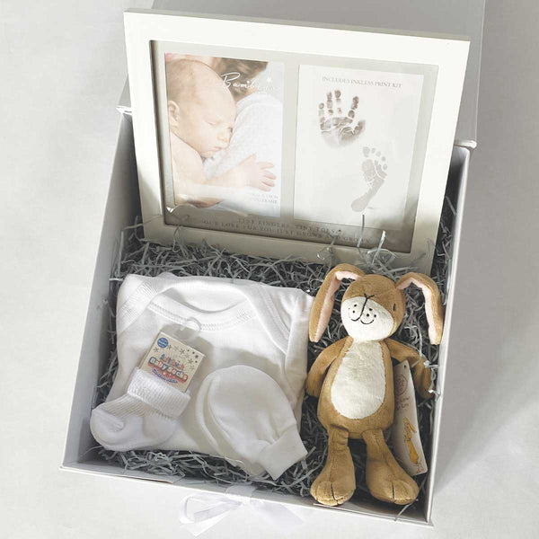 Personalised Guess How Much I Love You™ Keepsake Newborn Baby Gift Hamper