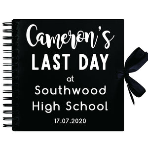 You added Personalised Last Day At School Scrapbook (Kraft, Black, White) to your cart.