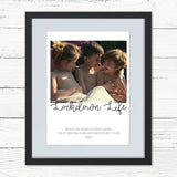 Personalised Family Photo Print - Lockdown 2020