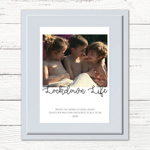 You added Personalised Family Photo Print - Lockdown 2020 to your cart.