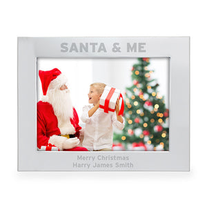 You added Personalised 'Santa & Me' Photo Frame, 5x7