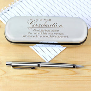 You added Personalised Graduation Pen and Box Set to your cart.