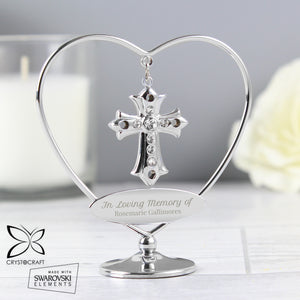 You added Personalised In Loving Memory Crystocraft Cross to your cart.