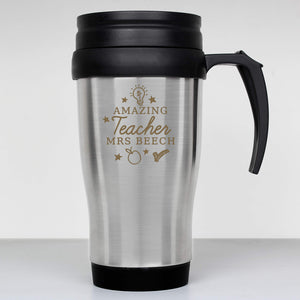 You added Personalised Amazing Teacher Travel Mug to your cart.